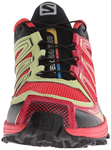 SalomonFellraiser - Zapatillas de running mujer Rosa - Pink (Papaya-B/Lotus Pink/Black)