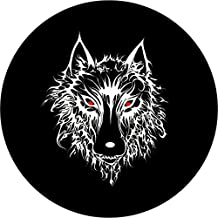 """Spare Tire Cover 27"""" Lone Wolf"""