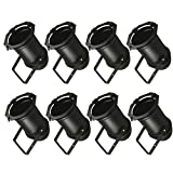8x Black PAR 56 Lighting CAN Stage Theatre PAR56 Light