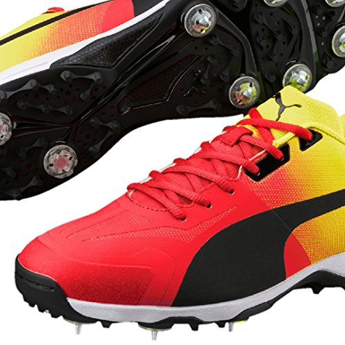 PUMA 2018 Evospeed 18.1 Cricket Spike Fade Red/Yellow ZD3KmS3
