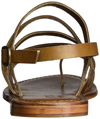Inuovo 7715 - Tira de tobillo Mujer Marrón (Tan)