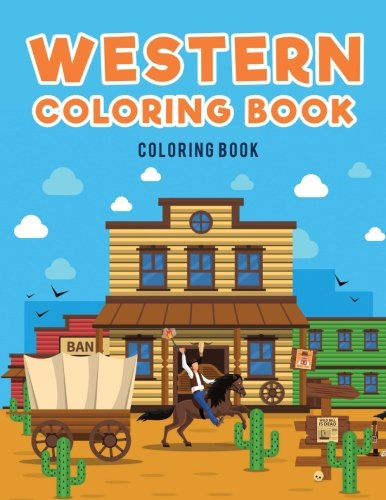 Western Coloring Book :: Cowboys