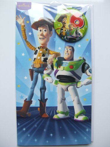 Toy Story Birthday Card (Toy story birthday card for age 6 by Hallmark)