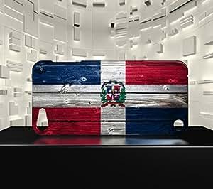Funda Carcasa para iPod Touch 5 Bandera REPÚBLICA DOMINIQUAINE 02
