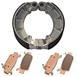 #8: Caltric FRONT & REAR BRAKE PADS SHOES Fits HONDA TRX500 FOURTRAX FOREMAN RUBICON 2005-2013 NEW