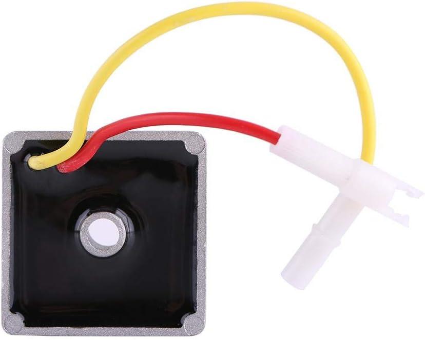 Le stabilisateur de tension automatique de voiture de redresseur de r/égulateur de tension ajusteur de tension automatique convient pour Briggs /& Stratton 691188 491546 793360 794360