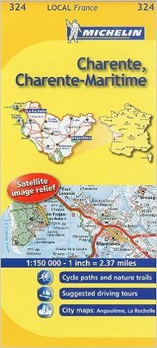 Mapa Local Charente, Charente-Maritime Mapas Local Michelin: Amazon.es: Michelin Travel Publications: Libros en idiomas extranjeros