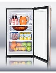 Summit FF521BLBIIFADA Refrigerator, Burgundy