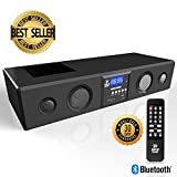 Pyle 3D Surround Bluetooth Soundbar - Sound System Bass Speakers Compatible to TV, USB, SD, FM Radio...