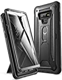 Wireless : YOUMAKER Kickstand Case for Galaxy Note 9, Full Body with Built-in Screen Protector Heavy Duty Protection Shockproof Rugged Cover for Samsung Galaxy Note 9 (2018) 6.4 Inch - Black