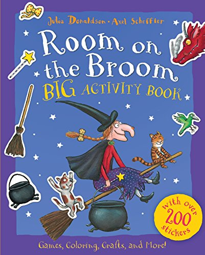 Room on the Broom Big Activity Book -