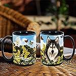 Imprints Plus Dog Breeds (A-D) Alaskan Malamute 15-oz Coffee Mug Bundle with Non-Negotiable K-Nine Cash (alaskan malamute 009) 10