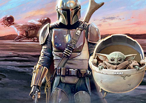 🥇 Star Wars – The Mandalorian – This is The Way – 500 Piece Jigsaw Puzzle