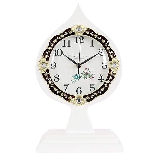 KXBYMX Reloj de Mesa Reloj, Sala de Estar/Dormitorio/decoración ...