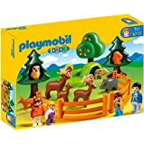 Playmobil 1.2.3 Forest Animal Park