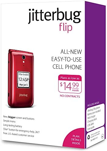 Jitterbug Phone Plans >> Mua Hang Jitterbug Flip Easy To Use Cell Phone For Seniors