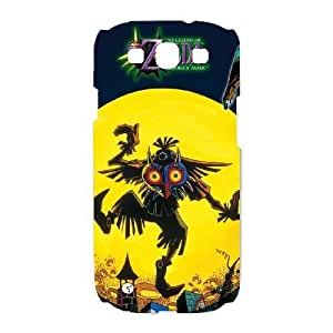 Printed Cover Protector Samsung Galaxy S3 I9300 Cell Phone Case White Majora's Mask Bncpn Printed Cover Protector