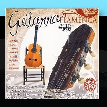 Guitarra Flamenca by Various Artists : Various Artists: Amazon.es ...