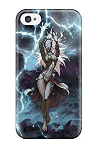 Hot Selling Tpu Cover Case For Iphone/ 4/4s Case Cover Skin - X Men Storm