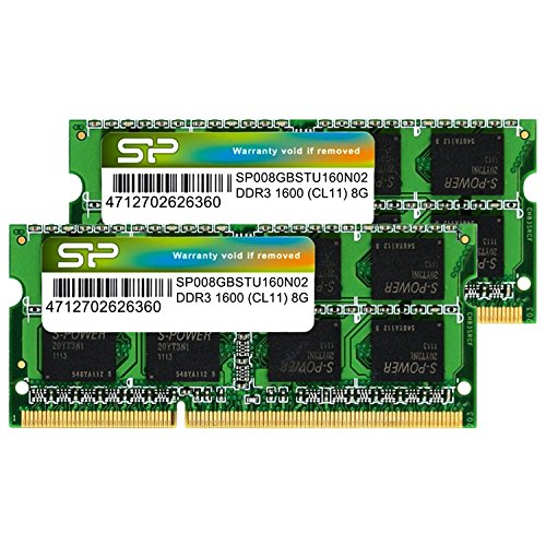 Silicon Power memory modules  204Pin SO-DIMM DDR3-1600(PC...