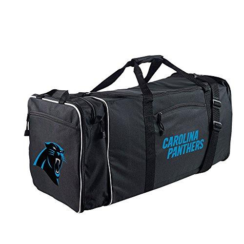 Amirshay, Inc. Carolina Panthers NFL Steal Duffel Bag (Black) (2-Pack) by Amirshay, Inc.