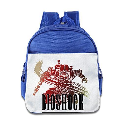 Logon 8 BioShock Logo Fashion Bag RoyalBlue For 3-6 Years Olds Girls