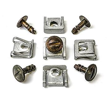 Halteklammern aus Metall für VW /& Audi 5x Universal Torx Befestigungs Schraube