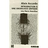 Introduction à une sociologie critique
