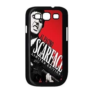 Al-Pacino-Scarface Samsung Galaxy S3 9300 Cell Phone Case Black SUJ8441929