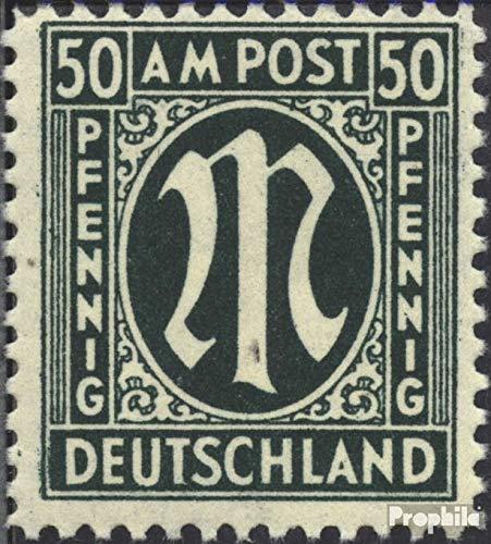 Prophila Collection Bizone (Alliierte Besetzung) C, 32a C, Besetzung) gezähnt 11,5:11 1945 AM-Post (Briefmarken für Sammler) 677a07
