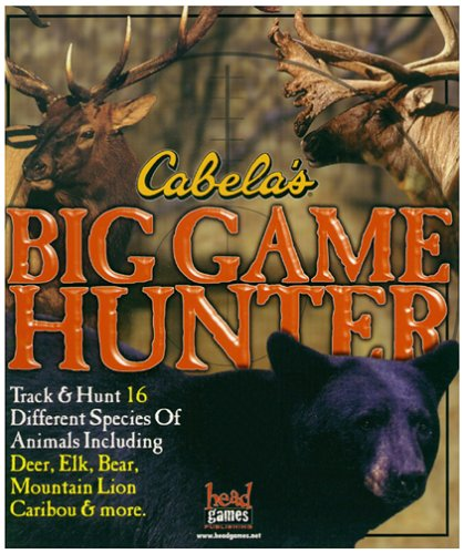 - Cabela's Big Game Hunter