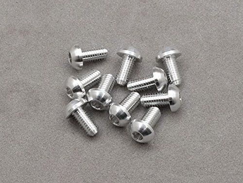 integy-rc-hobby-obmac-030-asbs-3-x-6mm-machine-type-7075-t6-button-head-hex-screw-silver-10-pcs