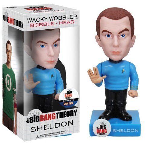 Funko Star Trek Big Bang Theory: Sheldon Wacky Wobbler