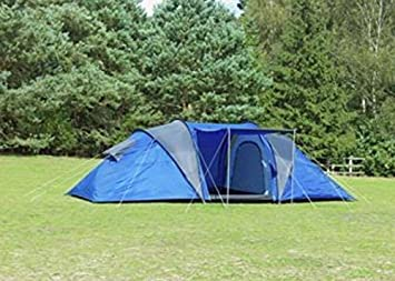 Pro Action 6 Man Person 2 Room Tent & Pro Action 6 Man Person 2 Room Tent: Amazon.co.uk: Kitchen u0026 Home