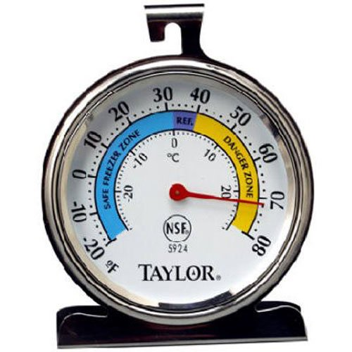 Taylor Precision Products Classic Series Large Dial Thermometer (Freezer/Refrigerator)