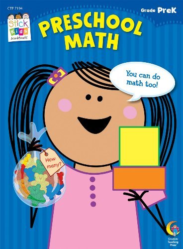 Preschool Math Stick Kids Workbook (Stick Kids Workbooks) by Majella Maas (2012-05-31)
