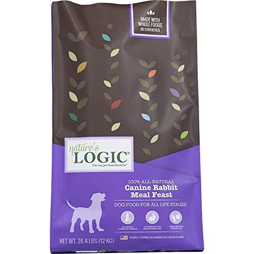 70%OFF Nature's Logic Dry Rabbit for Dog, 26.4 lb, 1 Pack