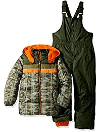 Boys' Active Colorblock Snowsuit