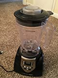 HealthMaster Elite Food Emulsifier, Fruit and Vegetable Blender by Montel Williams-Black & Stainless Steel