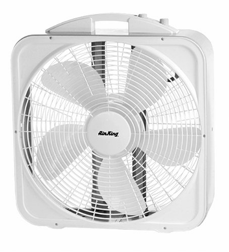 Box Fan Air King : Air king inch speed deluxe box fan home garden