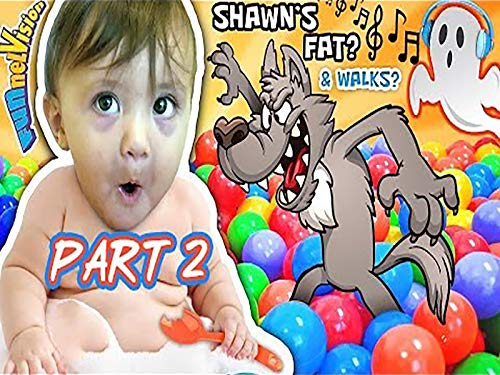 Fat Shawn Walks And Eats Spoons, The Ghost Song, Halloween Wolf Ball Pit]()