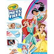 Crayola Color Wonder Disney Princess Coloring Pages, Mess Free Coloring, Gift for Kids, Age 3, 4, 5, 6