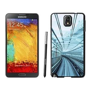 NEW Unique Custom Designed Samsung Galaxy Note 3 N900A N900V N900P N900T Phone Case With Urban Rail Glass_Black Phone Case