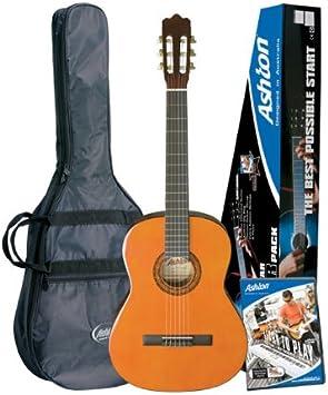 Ashton SPCG14AM Guitarra clásica - color natural: Amazon.es ...