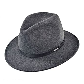 a3ce19f02722b9 Stetson Men's Explorer Wool Felt Fedora - Twexpr-042453 at Amazon ...