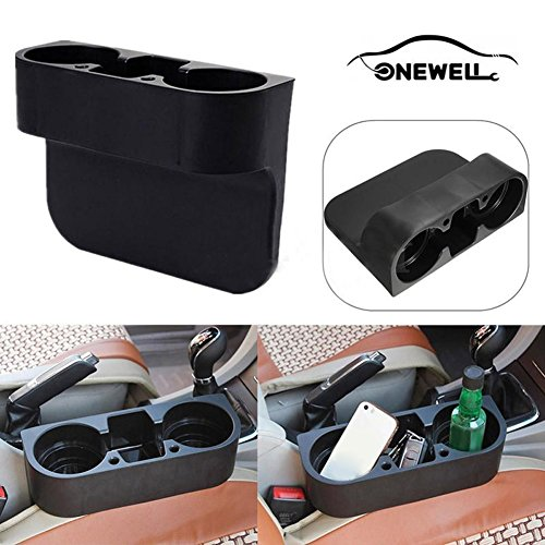 Portable Holders Cup - Onewell Black Portable Car Cup Holder Car Organizer / Car Multifunction Seat Cup Phone Cup Holder