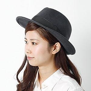 ナノ・ユニバース(レディース)(nano universe) SORBATTI/中折れ帽【グレー/58】