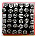 """Vector Number & Capital Letter Punch Set 36 Pc (6mm 1/4""""): 09098 by J&R Quality Tools"""