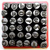 "Vector Number & Capital Letter Punch Set 36 Pc (6mm 1/4""): 09098"
