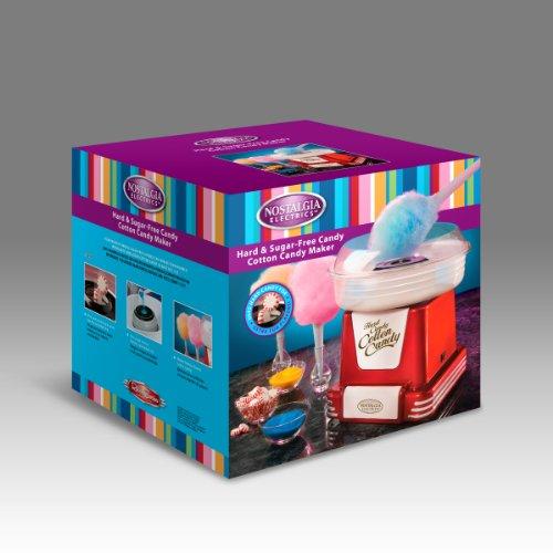 082677523167 - Nostalgia PCM805RETRORED Retro Series Hard & Sugar Free Candy Cotton Candy Maker carousel main 2